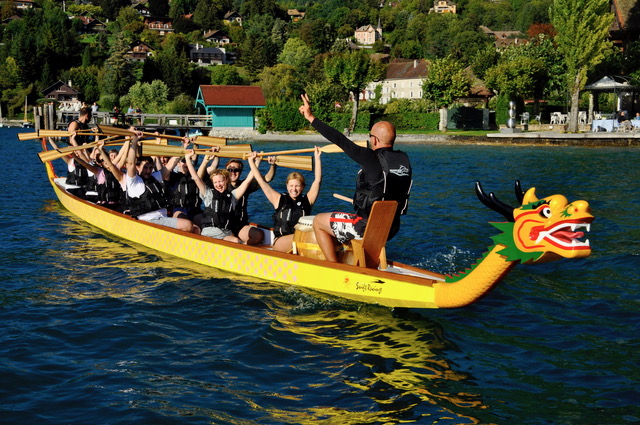Teambuilding Dragon Boat