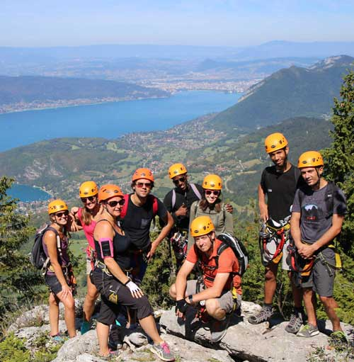 Maestria Events teambuilding via ferrata