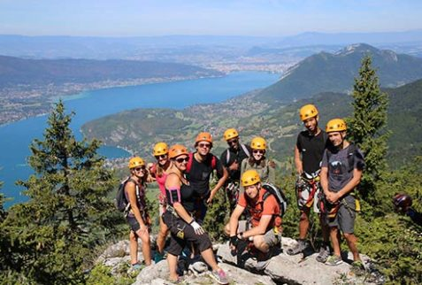Teambuilding via ferrata
