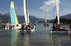 Annecy Teambuilding voile