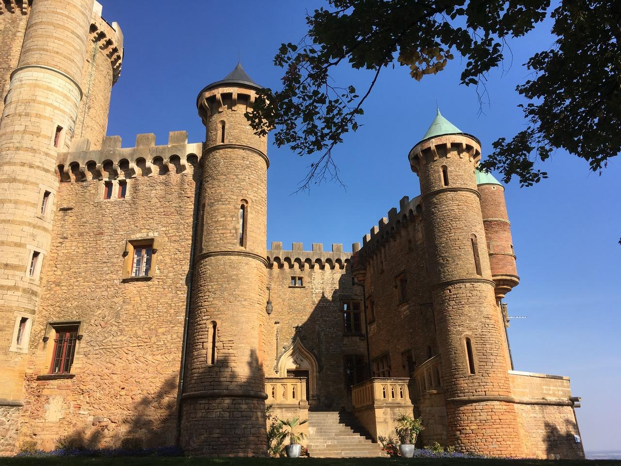 Séminaire Lyon Visite chateau de Montmelas