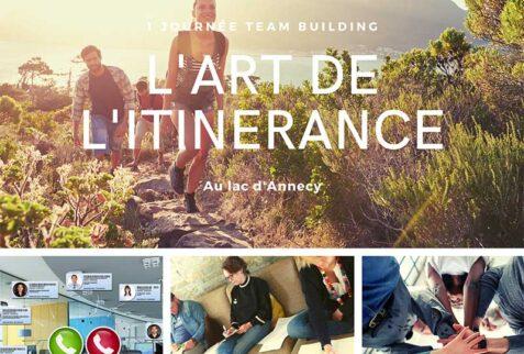 Teambuilding itinérance